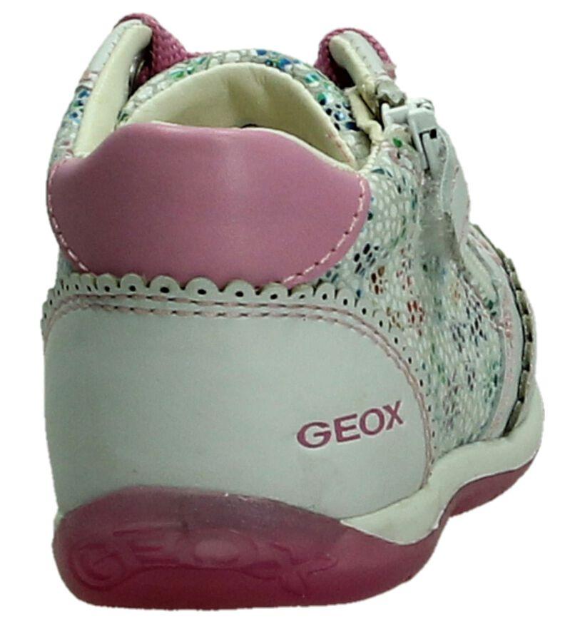 Geox Chaussures pour bébé  en Blanc en nubuck (190675)