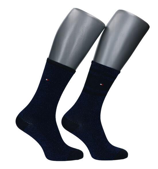 Tommy Hilfiger Blauwe Sokken