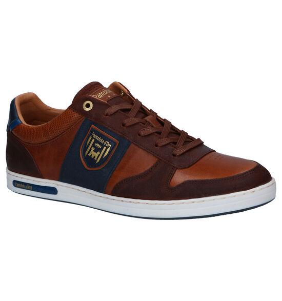Pantofola d'Oro Milito Low Chaussures à lacets en Cognac