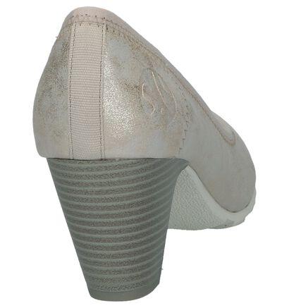 s.Oliver Escarpins classique en Beige clair en textile (237905)