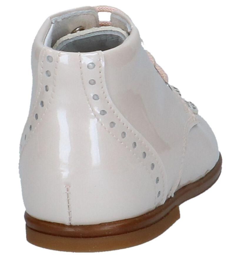 Beberlis Chaussures pour bébé  en Rose clair en cuir (245727)