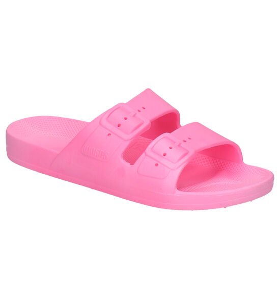 Freedom of Moses Bubble Gum Nu-pieds en Rose