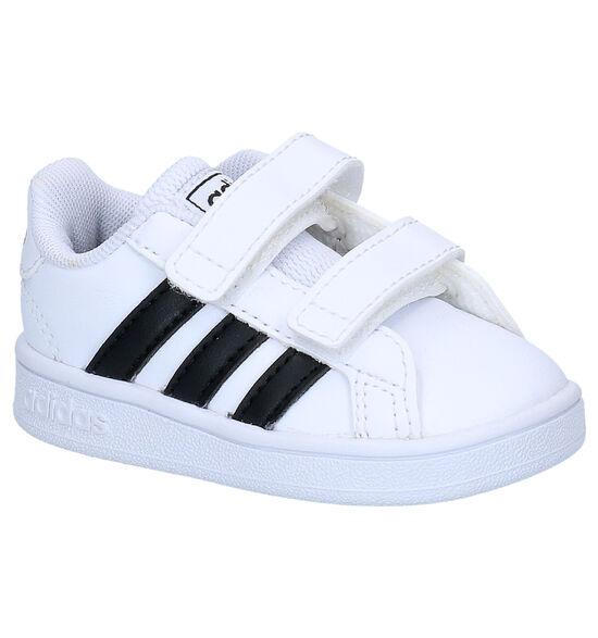 adidas Grand Court I Chaussures pour bébé en Blanc