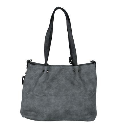 Zwarte Bag in Bag Schoudertas Emily & Noah in imitatieleer (249487)