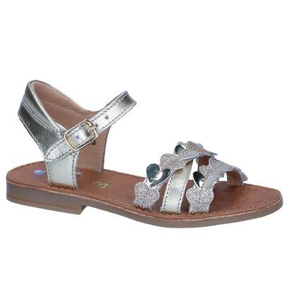 Shoo Pom Sandales en Or en cuir (242890)