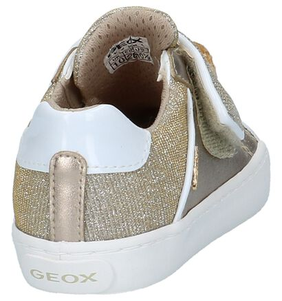 Geox Baskets basses en Or rose en simili cuir (210488)