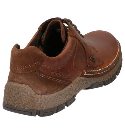 Camel Active Bormio Chaussures basses en Cognac en cuir (259395)