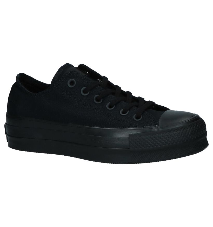 Chuck Taylor All Star Baskets basses en Noir en textile (235598)