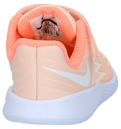 Nike Star Runner Baskets basses en Fluo en textile (209999)