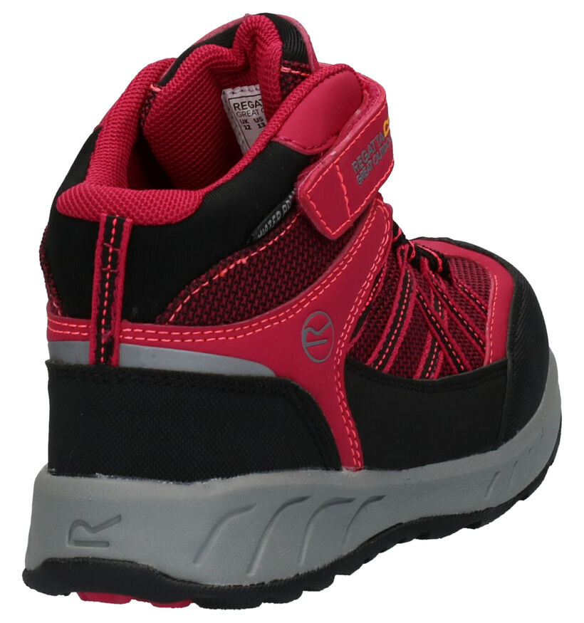 Regatta Chaussures hautes en Rose fuchsia en textile (261063)