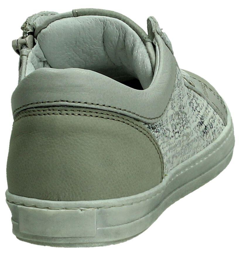 Hampton Bays Chaussures basses en Gris clair en cuir (189863)
