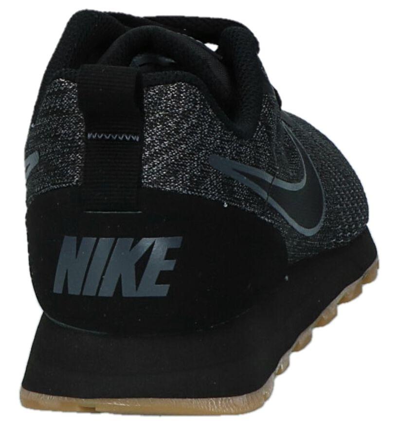 MD Runner Baskets basses en Noir en textile (222196)