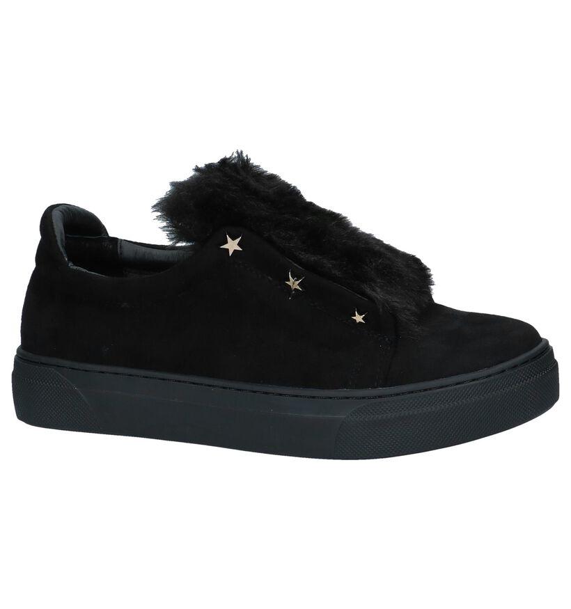 Slip-on Sneakers Zwart Uma Parker in stof (230531)