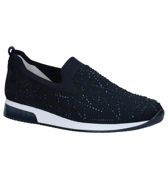 Ara Lissabon Chaussures sans lacets en Bleu