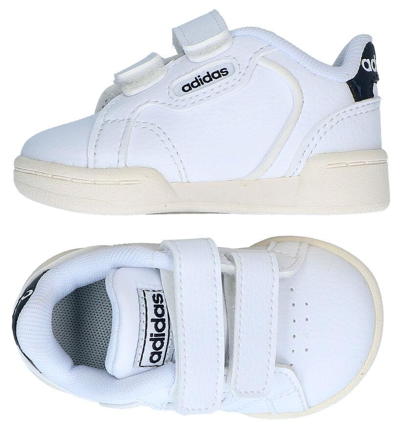 adidas Roguera I Chaussures pour bébé en Blanc en simili cuir (290780)