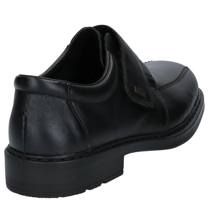 Rieker Chaussures basses en Noir en cuir (260552)