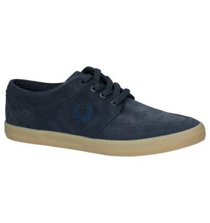 Fred Perry Chaussures basses en Bleu foncé en daim (221471)
