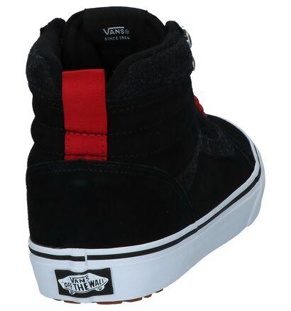 Vans Ward Sneakers Grijs in daim (264230)