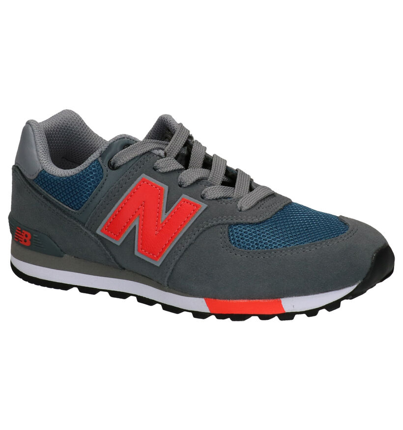 New Balance GC574 Grijze Sneakers in daim (253366)