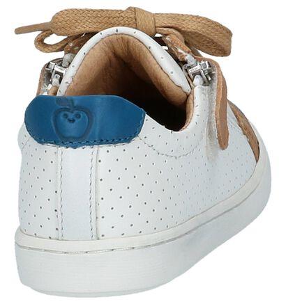 Schoenen met Rits & Veter Blauw Shoo Pom Play Lo Bi Zip, Wit, pdp