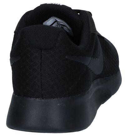 Zwarte Sneakers Nike Tanjun in stof (250253)