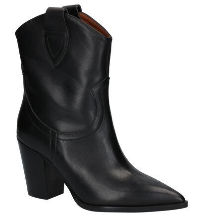 Via Limone Bottes basses en Noir en cuir (260855)