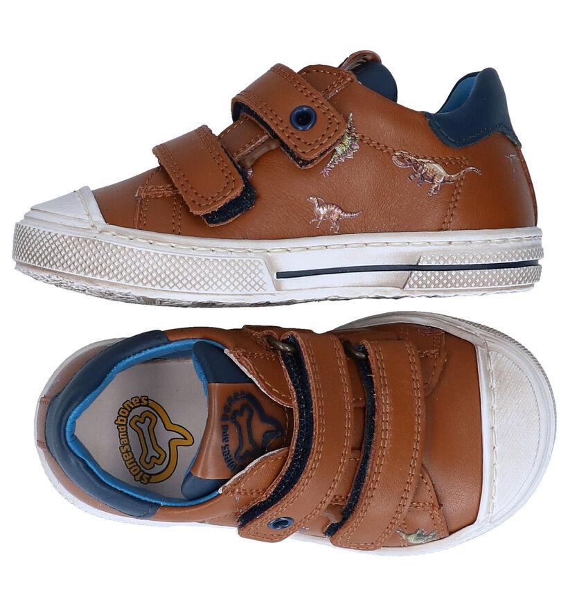 STONES and BONES Rusbe Chaussures pour bébé en Cognac en cuir (287847)