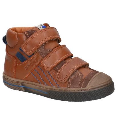 Little David Marcello Cognac Boots in leer (261373)