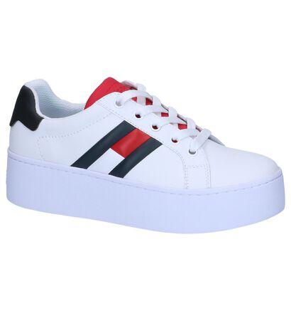 Witte Sneakers Tommy Hilfiger Tommy Jeans in kunstleer (241727)