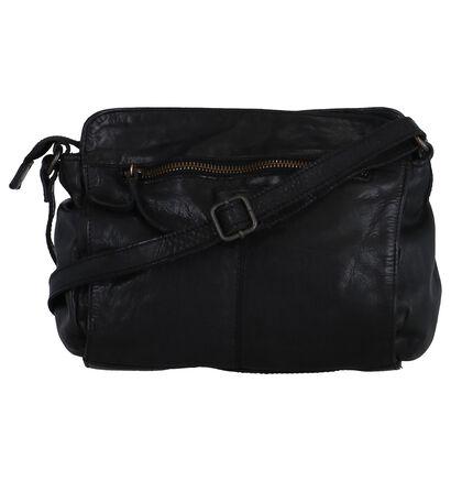 Zwarte Crossbody Tas Bear Design, Zwart, pdp