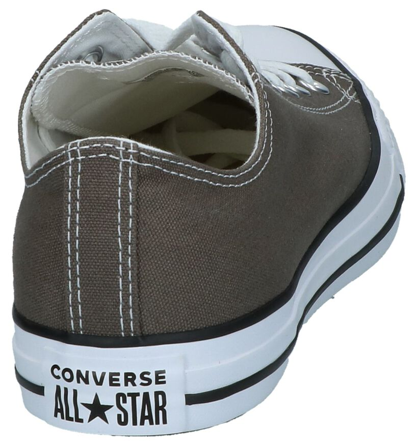 Converse Chuck Taylor All Star Baskets basses en Noir en textile (238383)