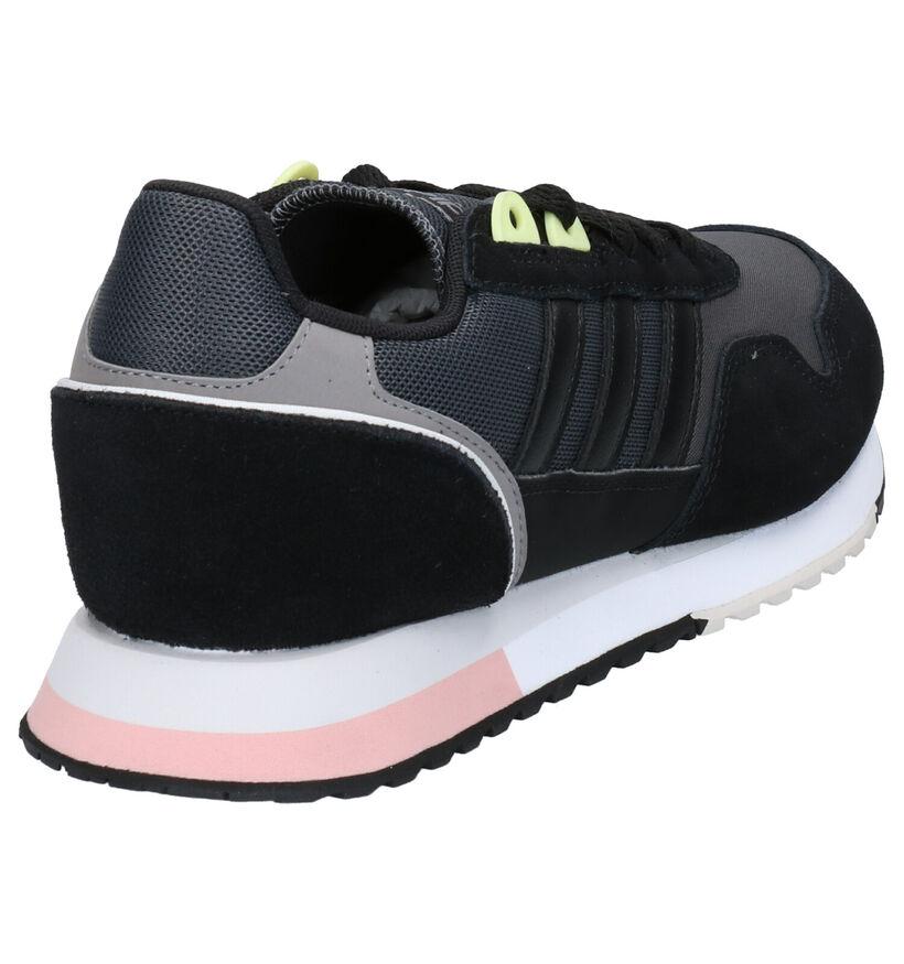 adidas Zwarte Sneakers in daim (264856)