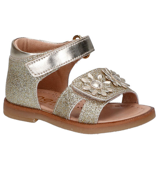 Lunella Gouden Sandalen