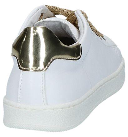 Witte Lage Geklede Sneakers Milo & Mila, Wit, pdp