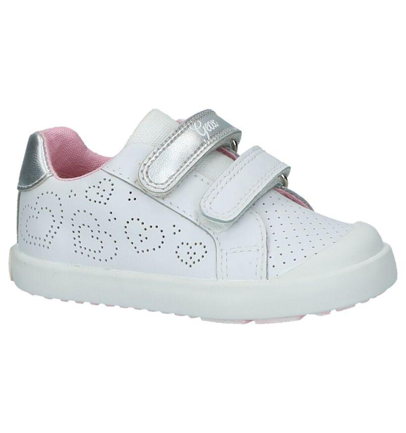 Geox Witte Babyschoentjes in leer (210516)