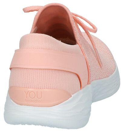 Slip-on Sneakers Grijs YOU by Skechers, Roze, pdp