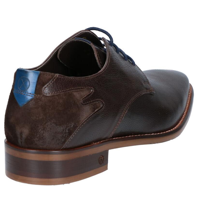 Ambiorix Delta Chaussures habillées en Marron en cuir (263240)