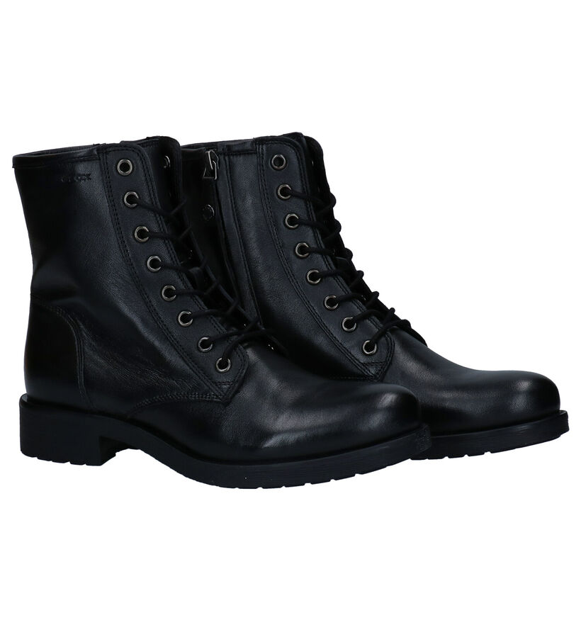 Geox Bottines en Noir en cuir (277054)