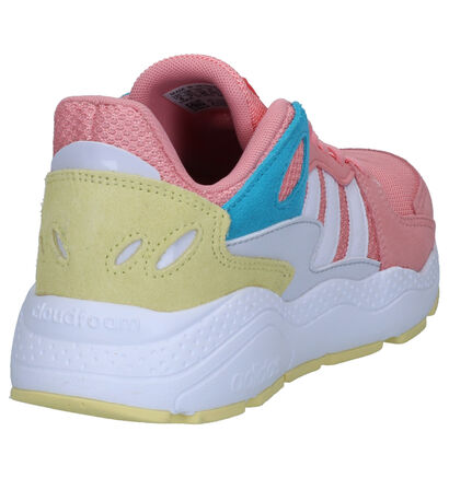adidas Crazychaos Roze Sneakers in daim (264888)