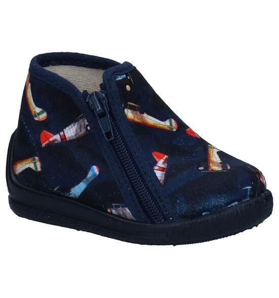 Bellamy Vico Blauwe Pantoffels