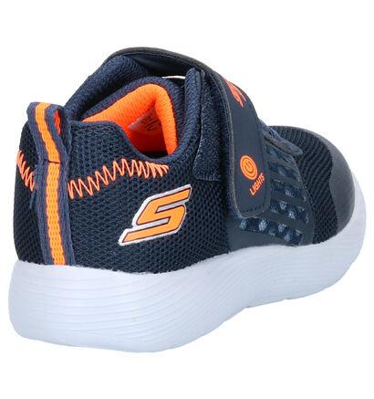 Skechers S Lights Sneakers Blauw in kunstleer (263928)