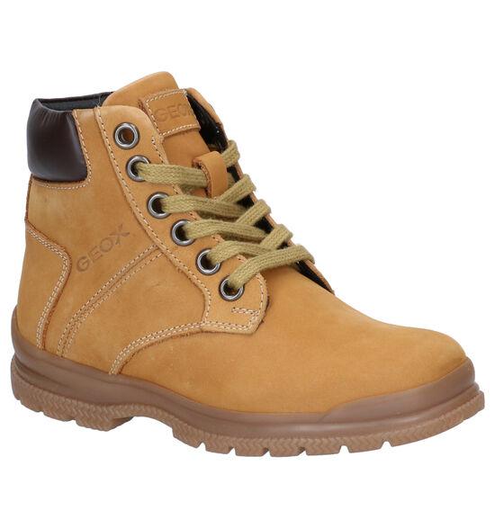 Geox Navado Naturel Boots