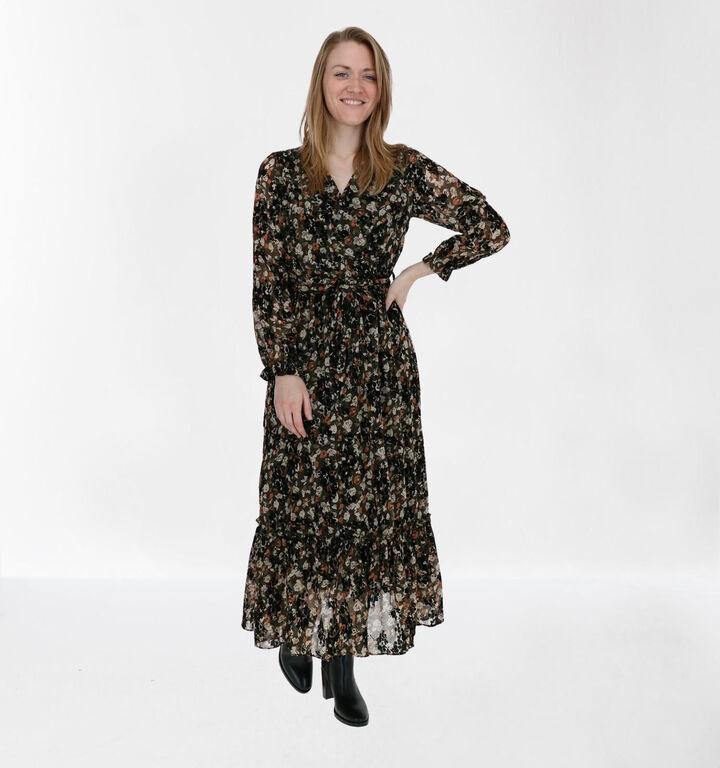 Kilky Robe Longue en Vert kaki