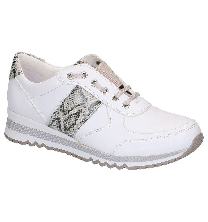 Marco Tozzi Chaussures slip-on en Blanc en simili cuir (270660)