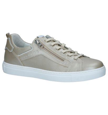 Witte Schoenen met Rits/Veter NeroGiardini, Beige, pdp