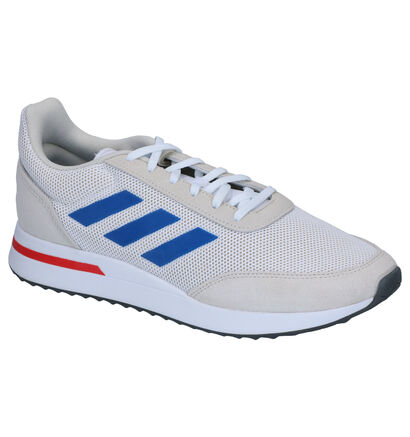 adidas RUN 70S Witte Sneakers in daim (252560)