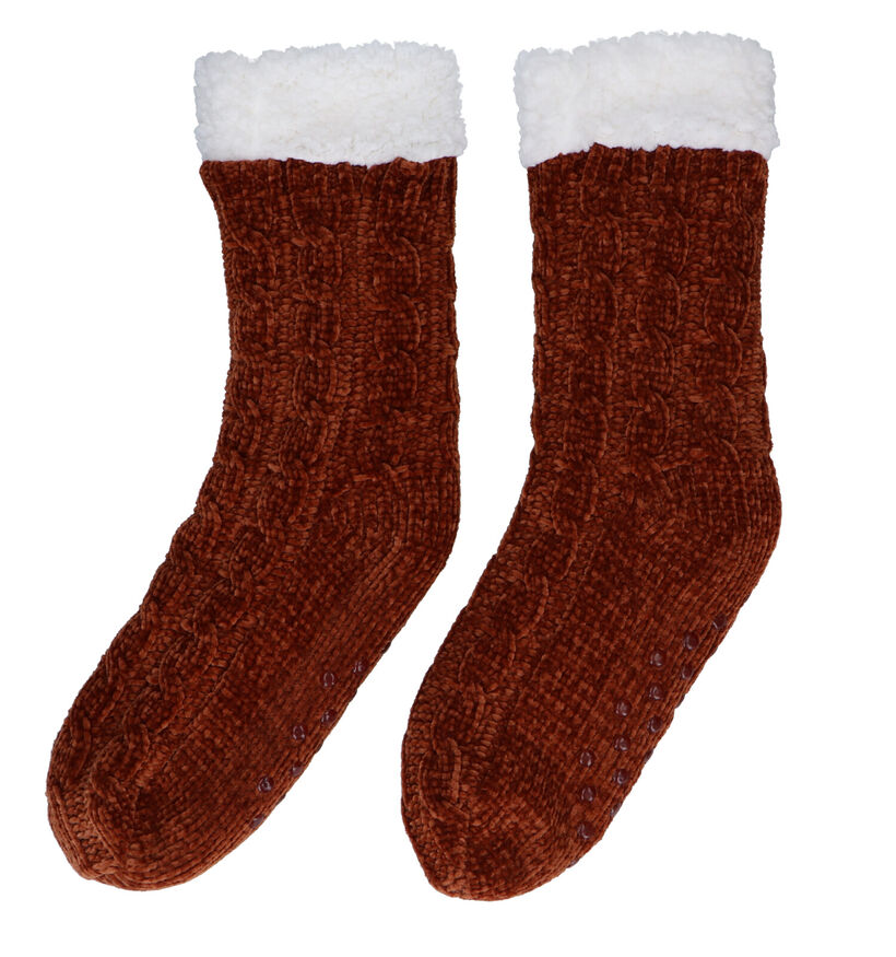 Teckel Socks Homesocks en Jaune (281306)