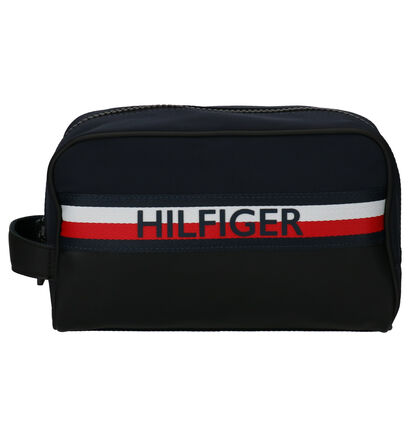 Tommy Hilfiger Urban Mix Blauwe Toilettas in kunstleer (264613)