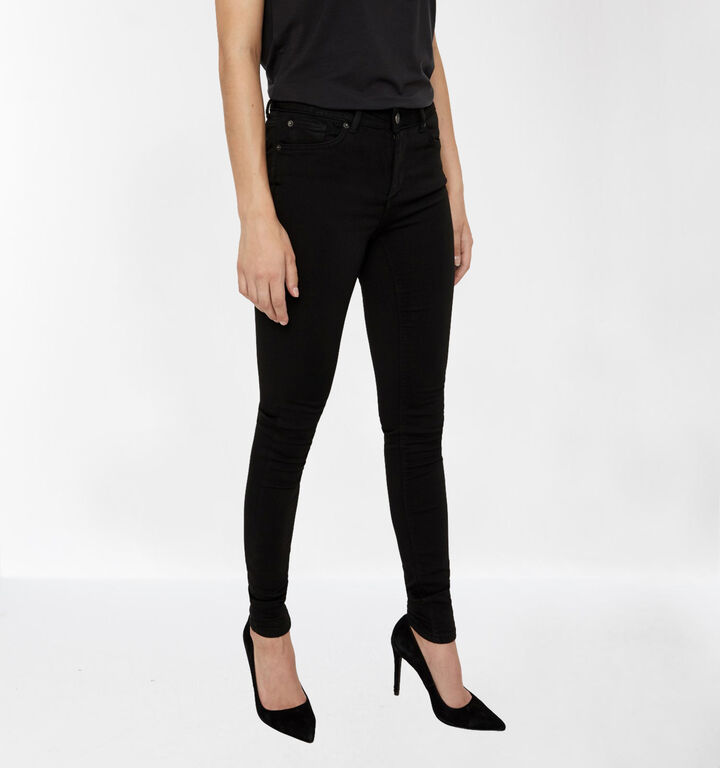 Vero Moda Lux 32 inch Zwarte Jeans Skinny Fit