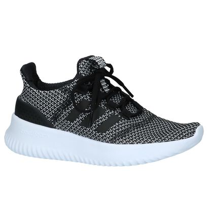 adidas Cloudfoam Baskets basses en Noir en textile (237021)